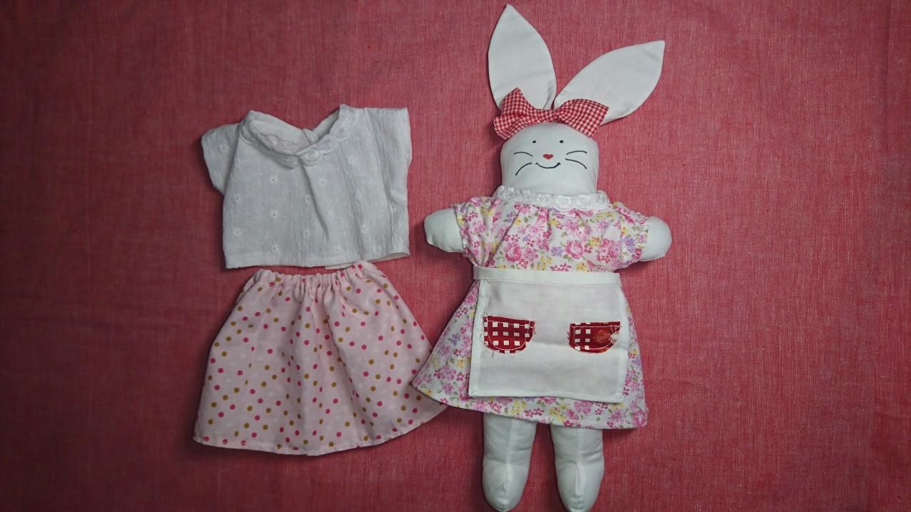 うさぎ人形